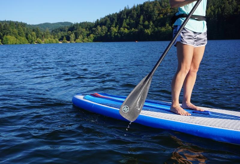 Werner Trance 95 paddle blade