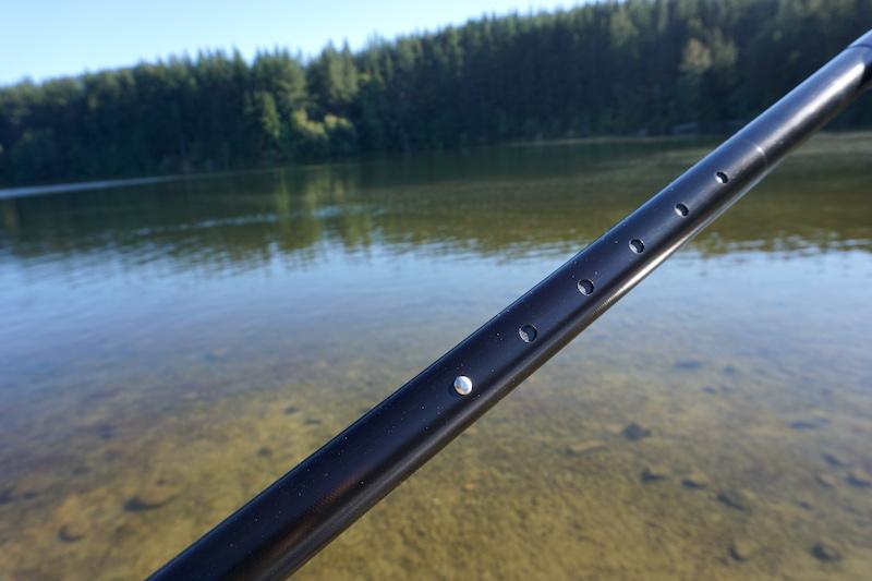 Werner SUP paddle shaft adjustment