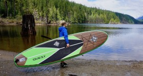 Burke 11' Quest Inflatable SUP Review
