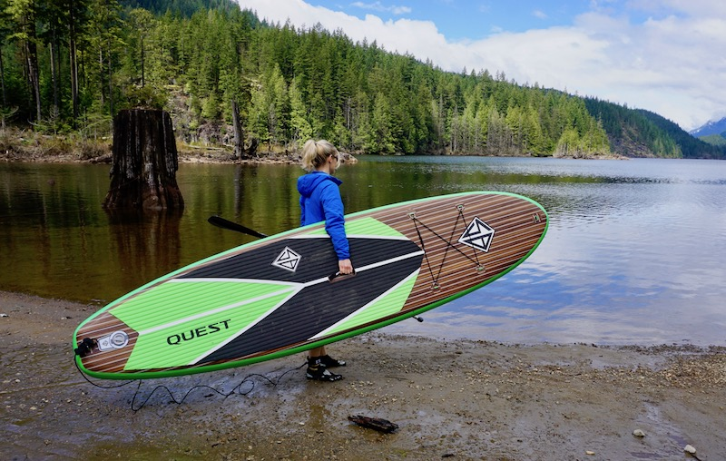 Scott Burke 11' Quest SUP