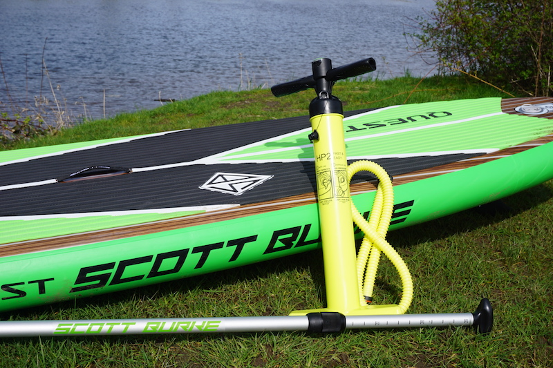 manual hand pump for paddle board