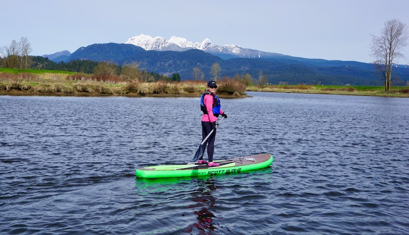 Burke 11' inflatable SUP