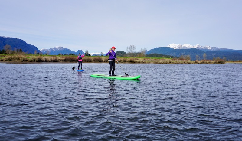 stand-up paddling Burke SUP