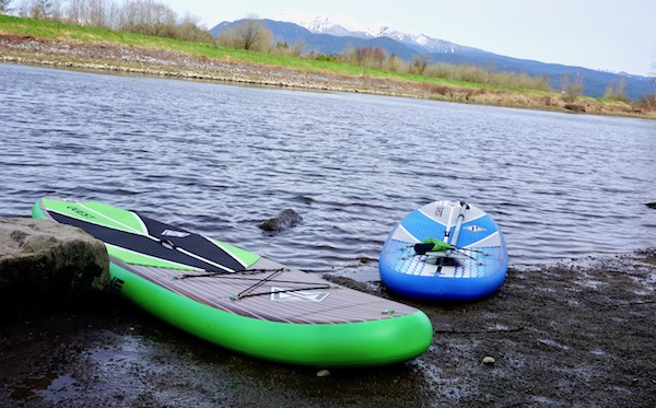 Scott Burke inflatable SUP's