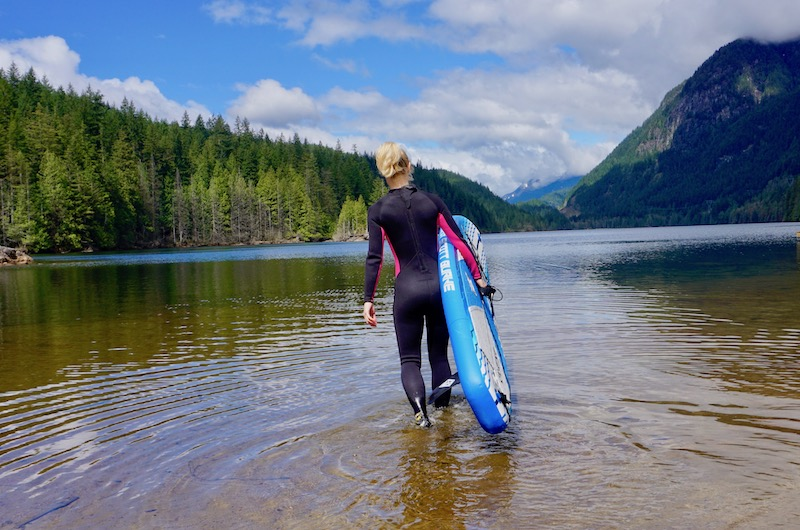 wetsuit for stand-up paddle boarding