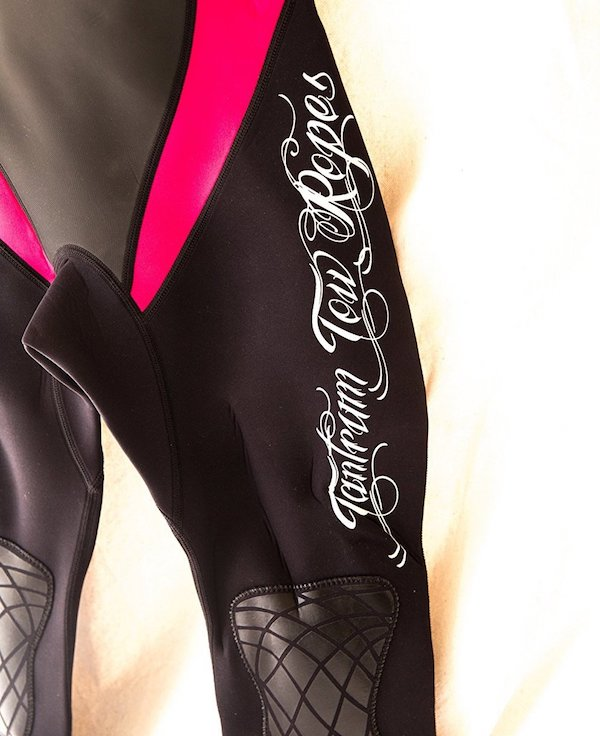 Tantrum Tow Ropes womens wetsuit with knee guards