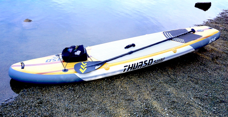 Thurso Surf Waterwalker inflatable SUP paddle board