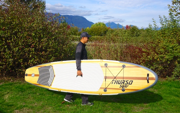 Thurso Surf Waterwalker inflatable stand up paddle board