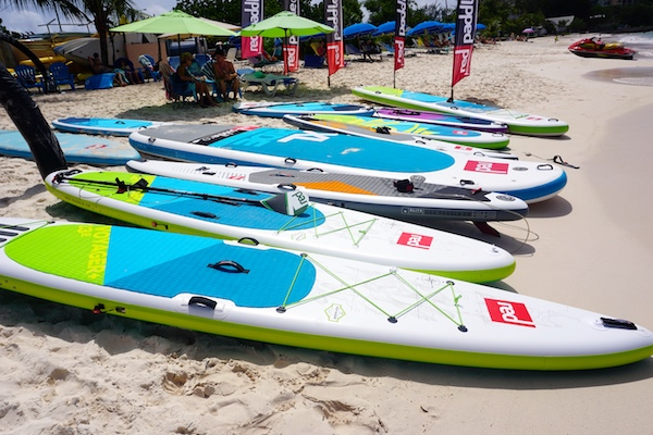 2018 lineup of Red Paddle Co boards