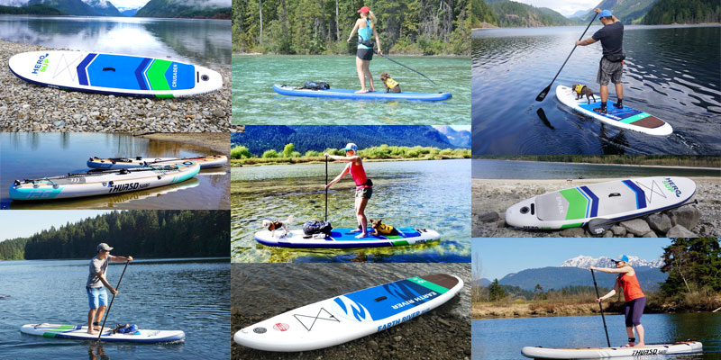 Best all around inflatable stand up paddle boards