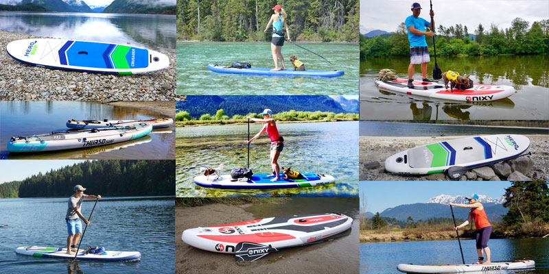 Top 5 All Around Inflatable Stand Up Paddle Boards 2019