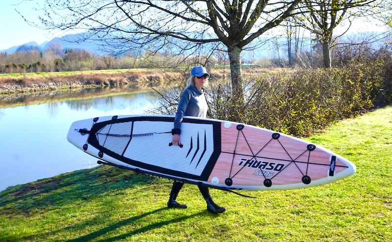 Thurso Surf Expedition touring inflatable SUP